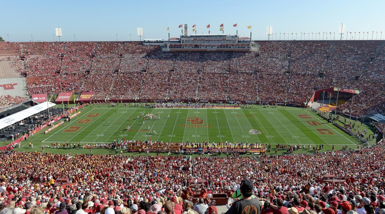 USC football Jake Olson walk-on