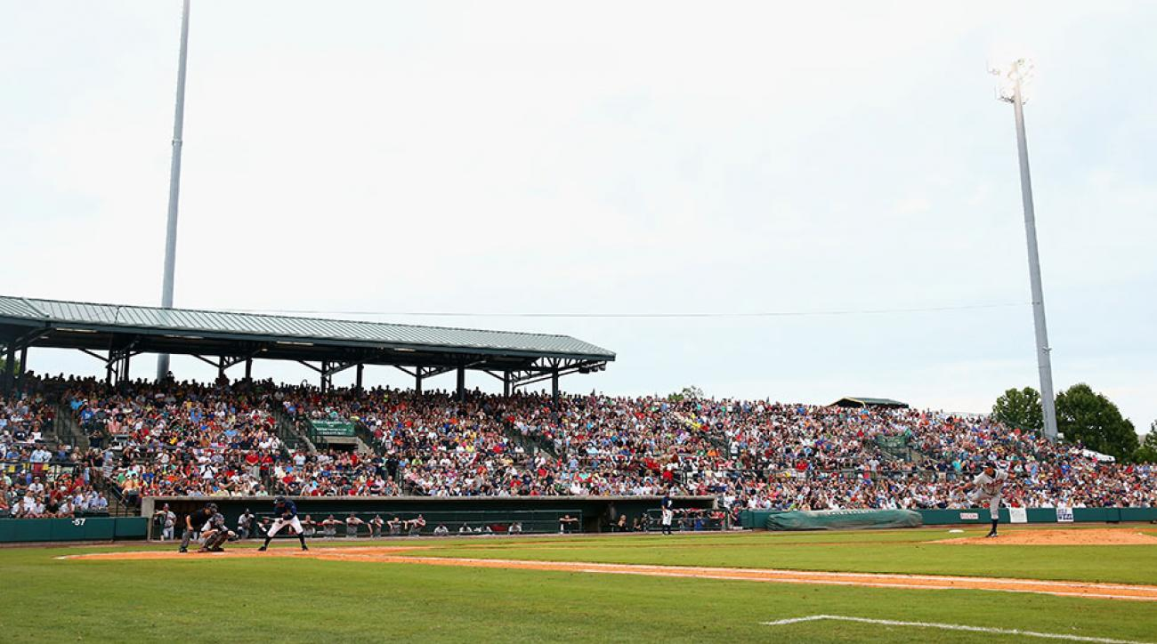 Bill Murray Danny McBride baseball game
