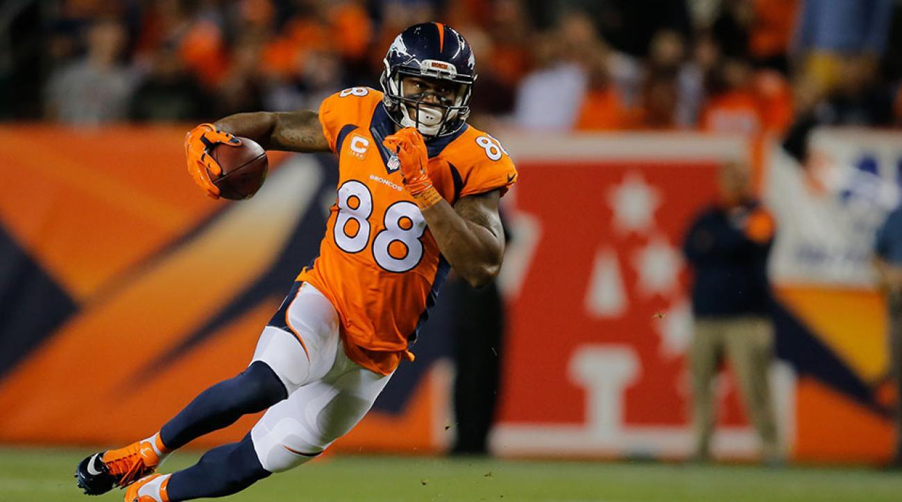 Denver Broncos Demaryius Thomas John Elway