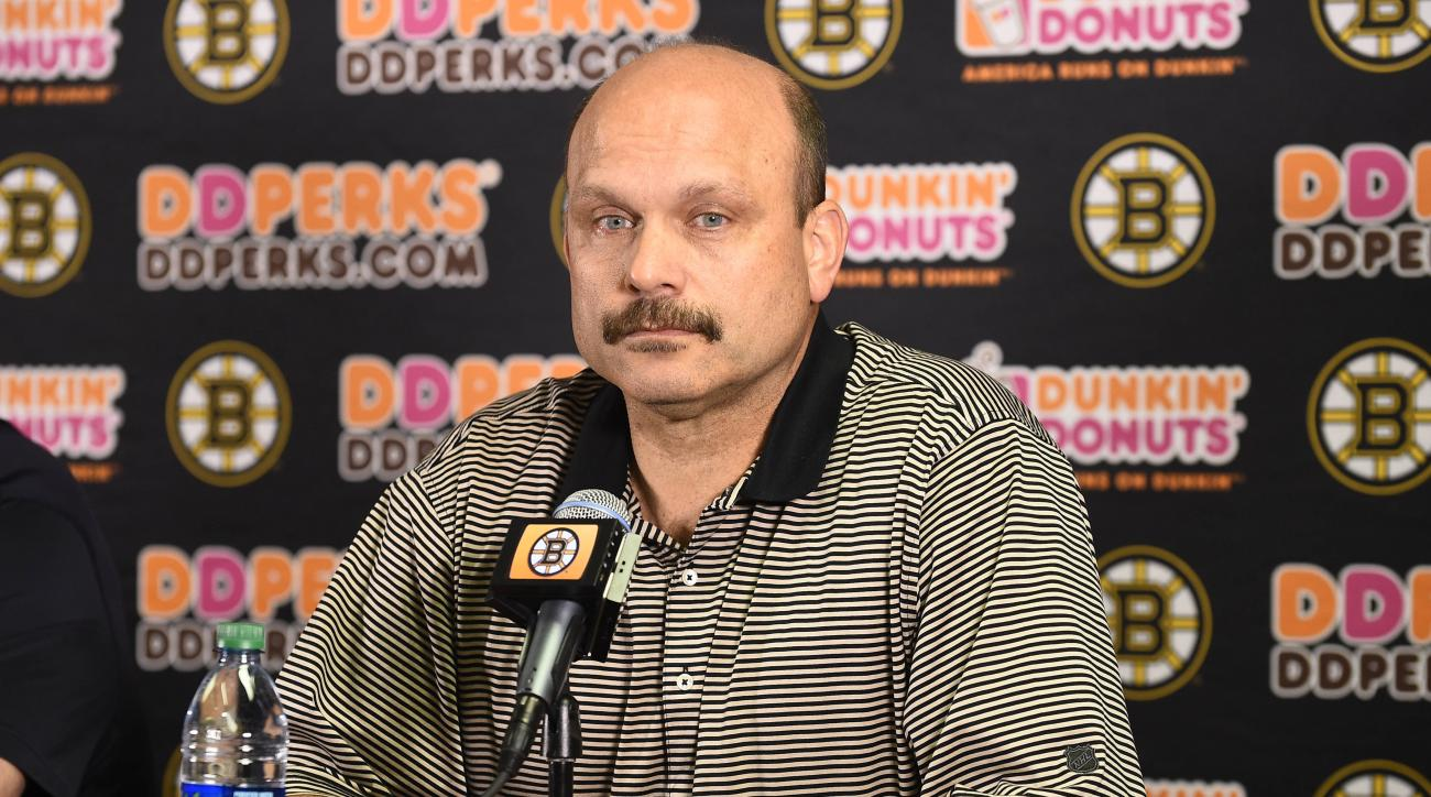 boston bruins fire Peter Chiarelli
