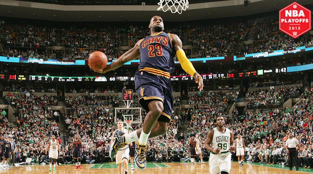 LeBron James, Cavaliers beat Celtics 103-95 in Game 3.
