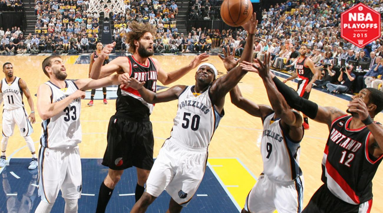 The Grizzlies used their suffocating defense to stifle the Blazers in a Game 2 win.