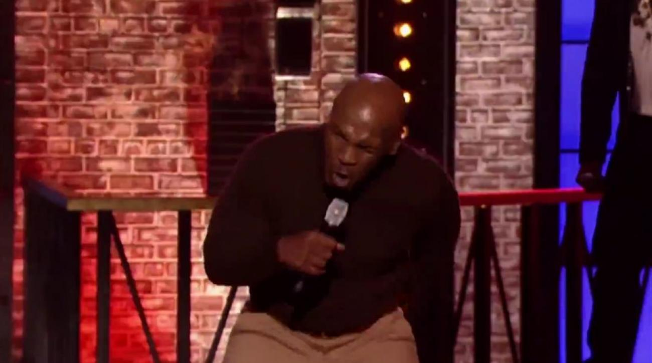 Mike Tyson performs 'Push It' on Lip Sync Battle