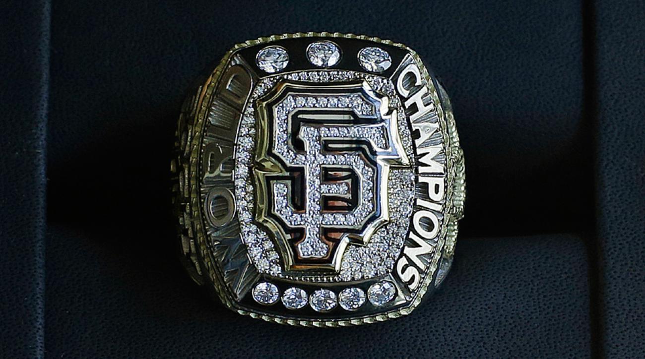 San Francisco Giants World Series ring raffle