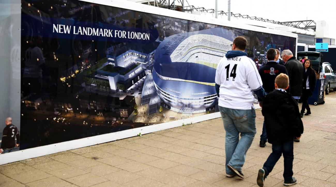 Tottenham Hotspur could share the new White Hart Lane with a future London NFL team.