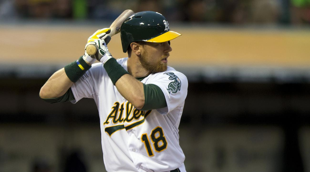 ben zobrist knee surgery oakland athletics