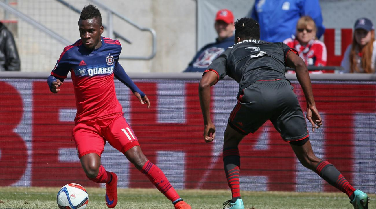chicago fire beat nycfc david accam
