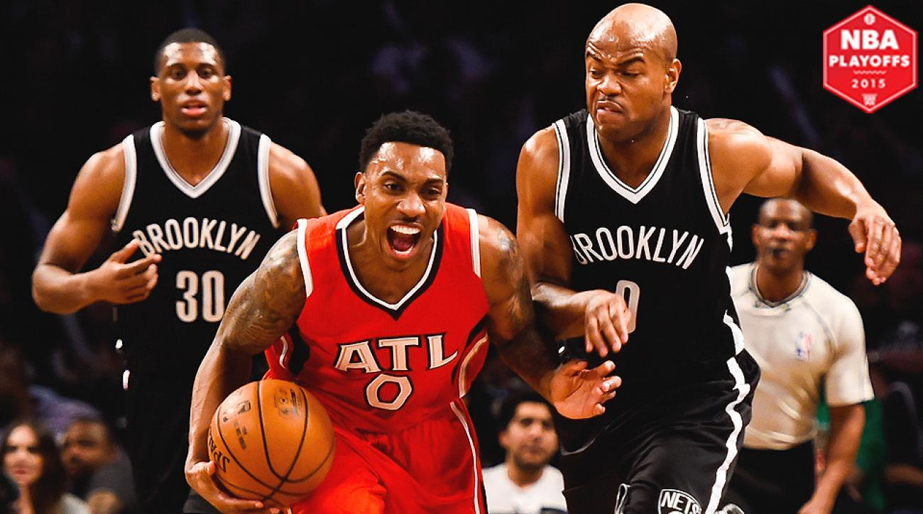 Nets defeated Hawks 91-83 to win Game 3 in Brooklyn.