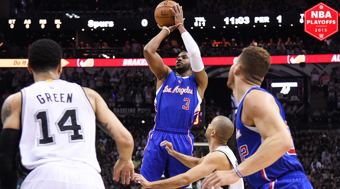 Chris Paul scored 34 points in Clippers' Game 4 win over Spurs.