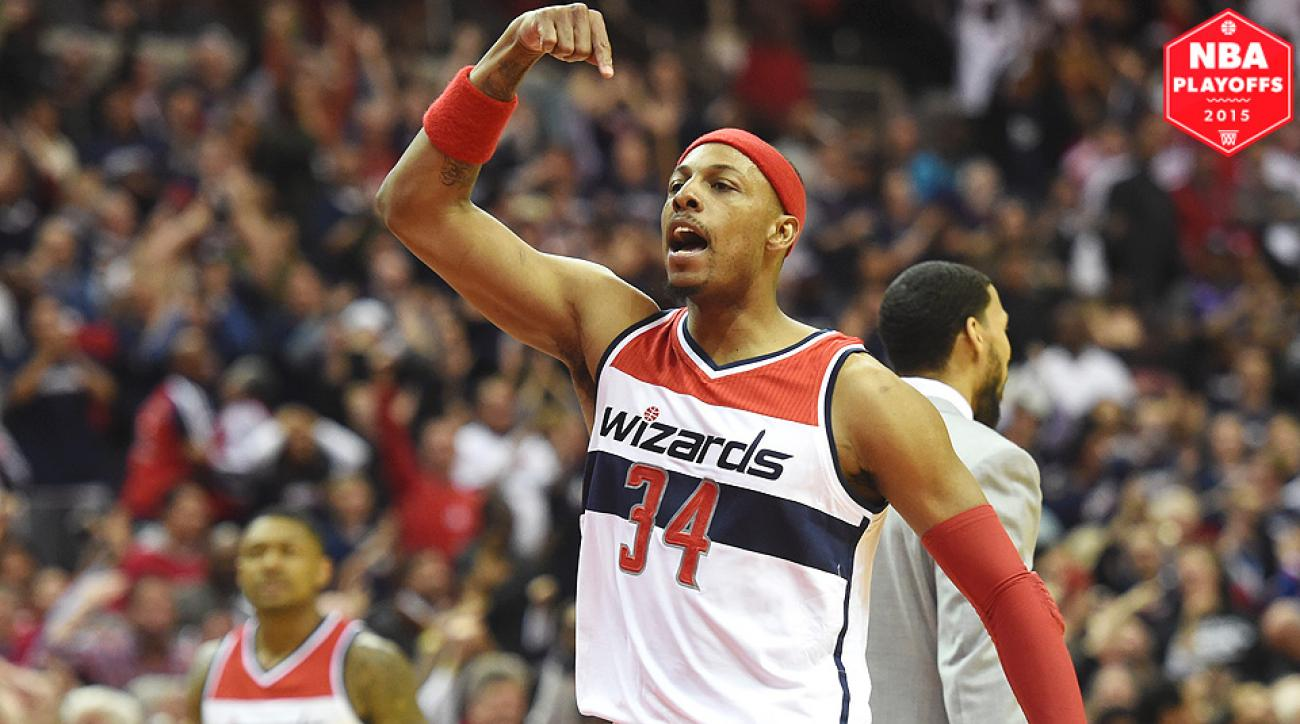 Paul Pierce trolled the Raptors after eliminating them from the NBA playoffs.