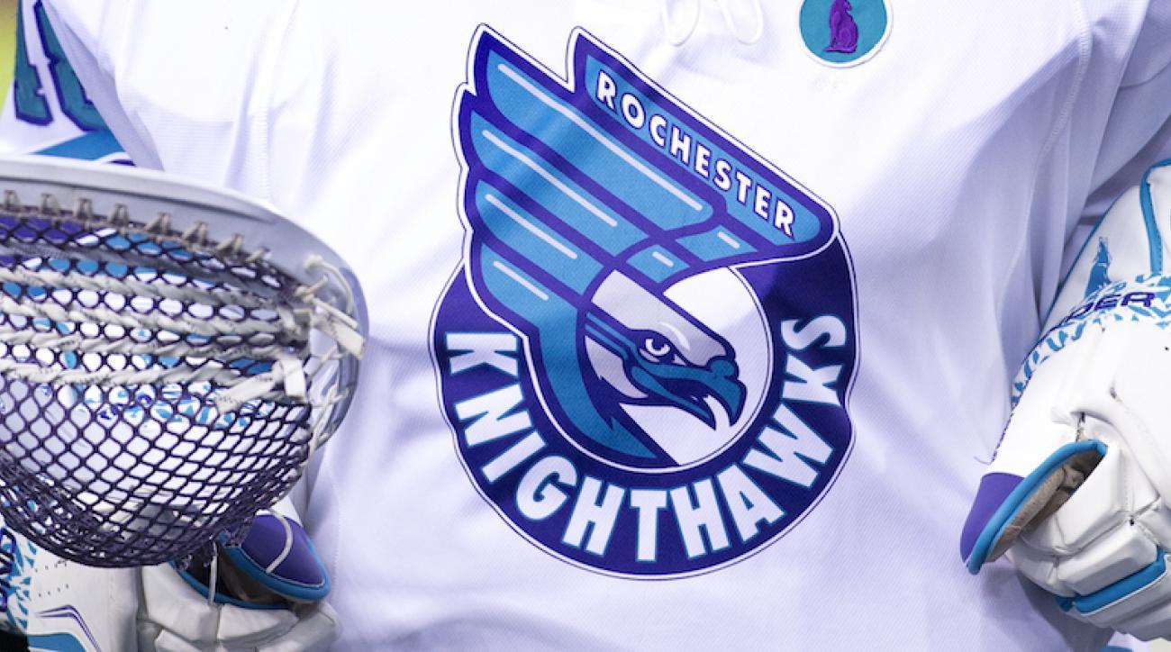 rochester knighthawks logo national league lacrosse