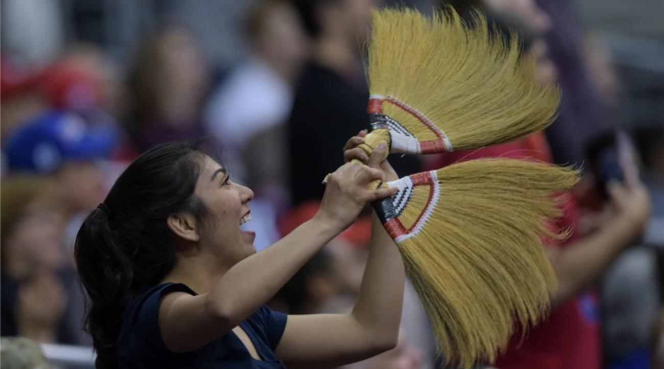 Wizards put restrictions on what types of brooms fans could bring