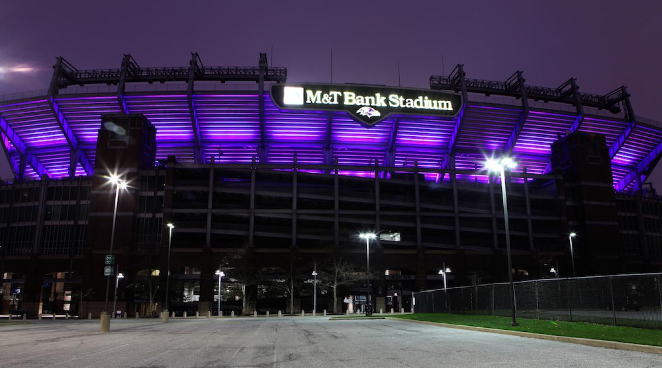 ravens cancel draft party m&t bank stadium baltimore protests