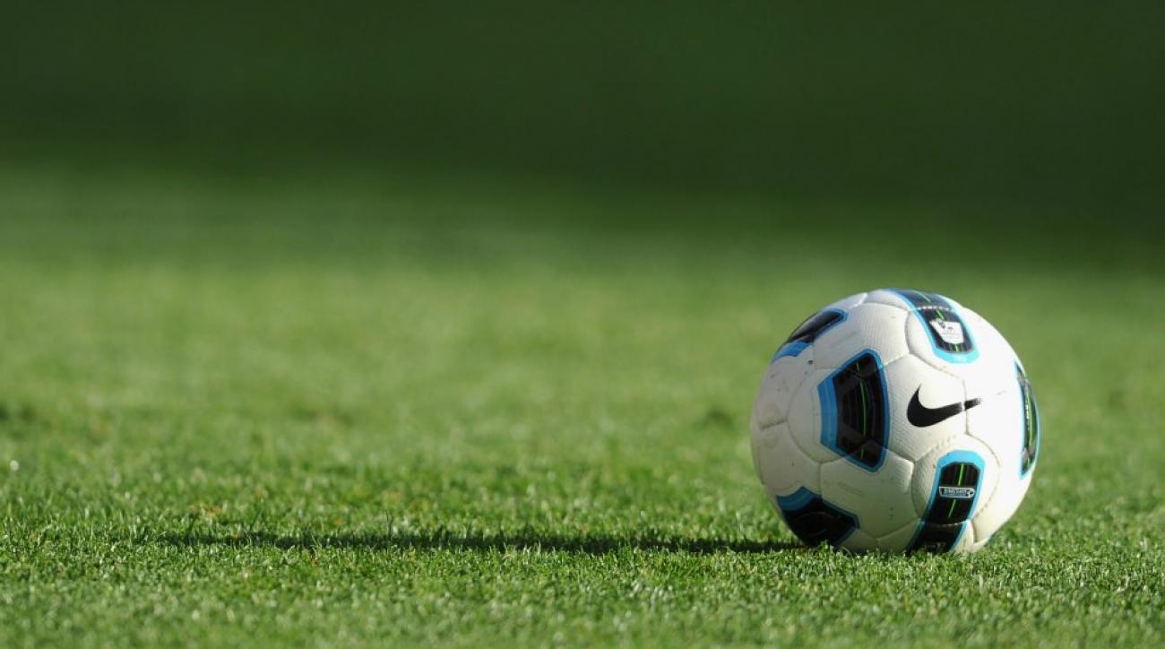 Soccer cheerleader accidentally tackles captain