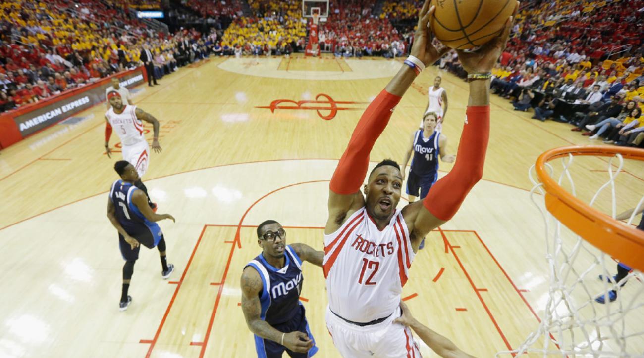 Howard, Rockets send Mavericks packing
