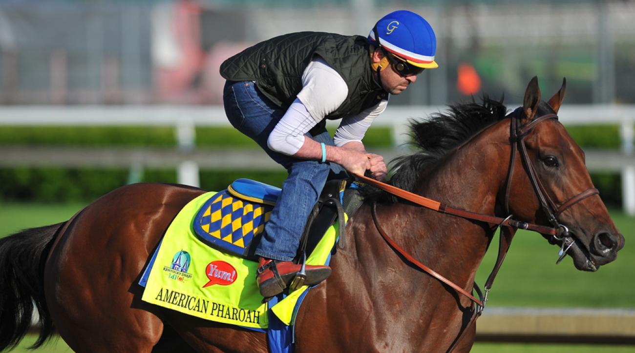 Kentucky Derby betting odds American Pharoah