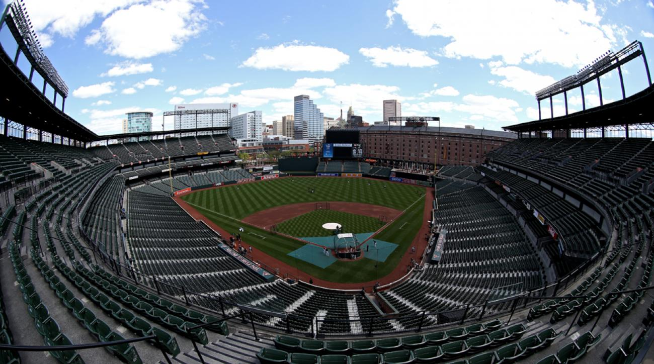 Orioles vs White Sox closed to fans riots live stream free