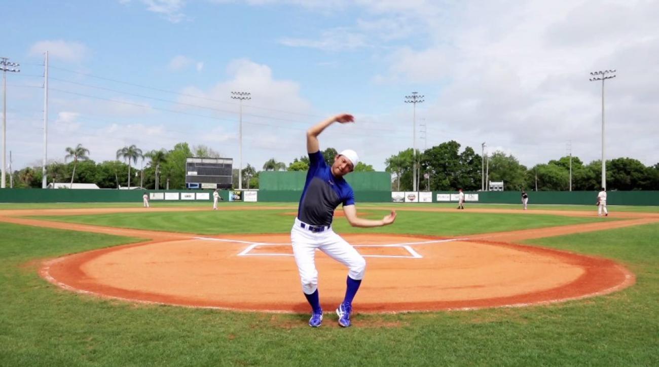 Blue Jays mInor leaguer Munenori Kawasaki workout video