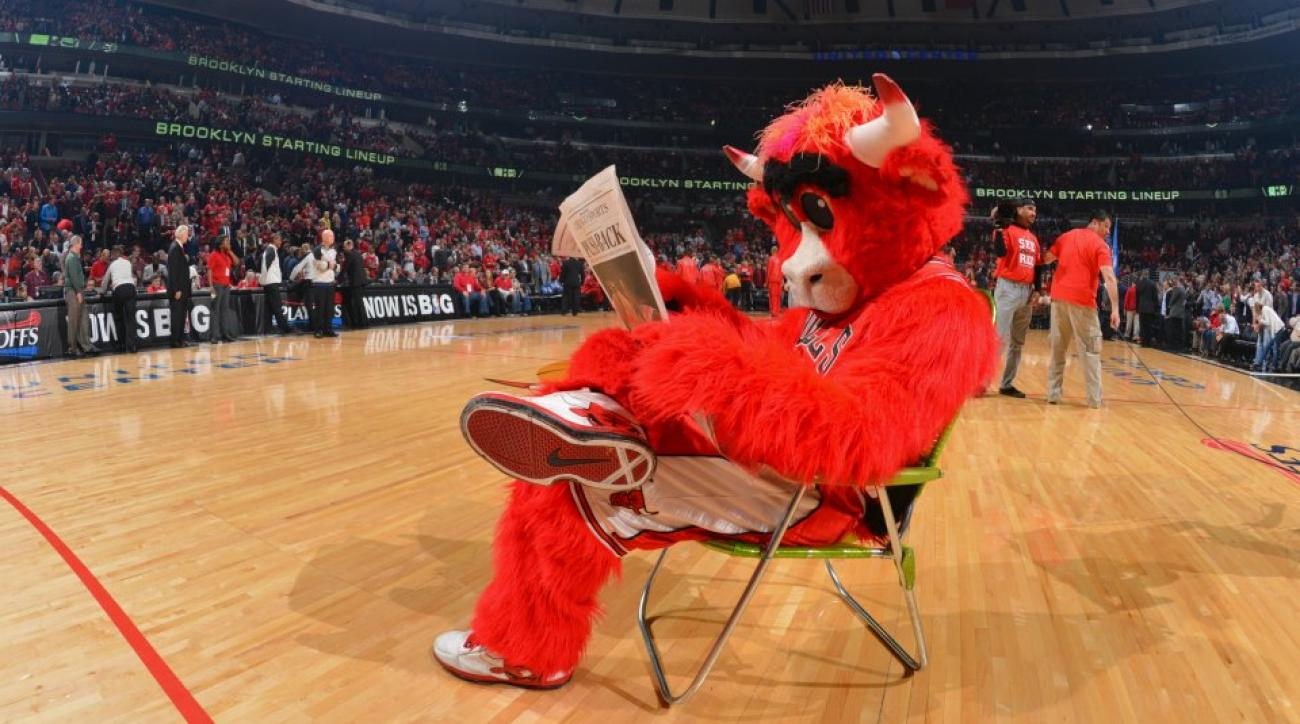 Benny The Bull wore a GoPro throughout the season