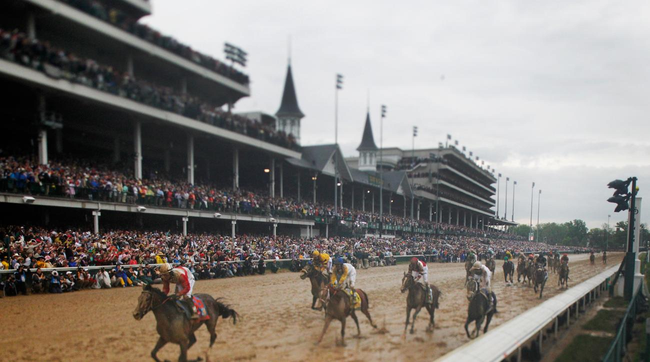 Kentucky Derby 2015 odds race American Pharaoh Dortmund