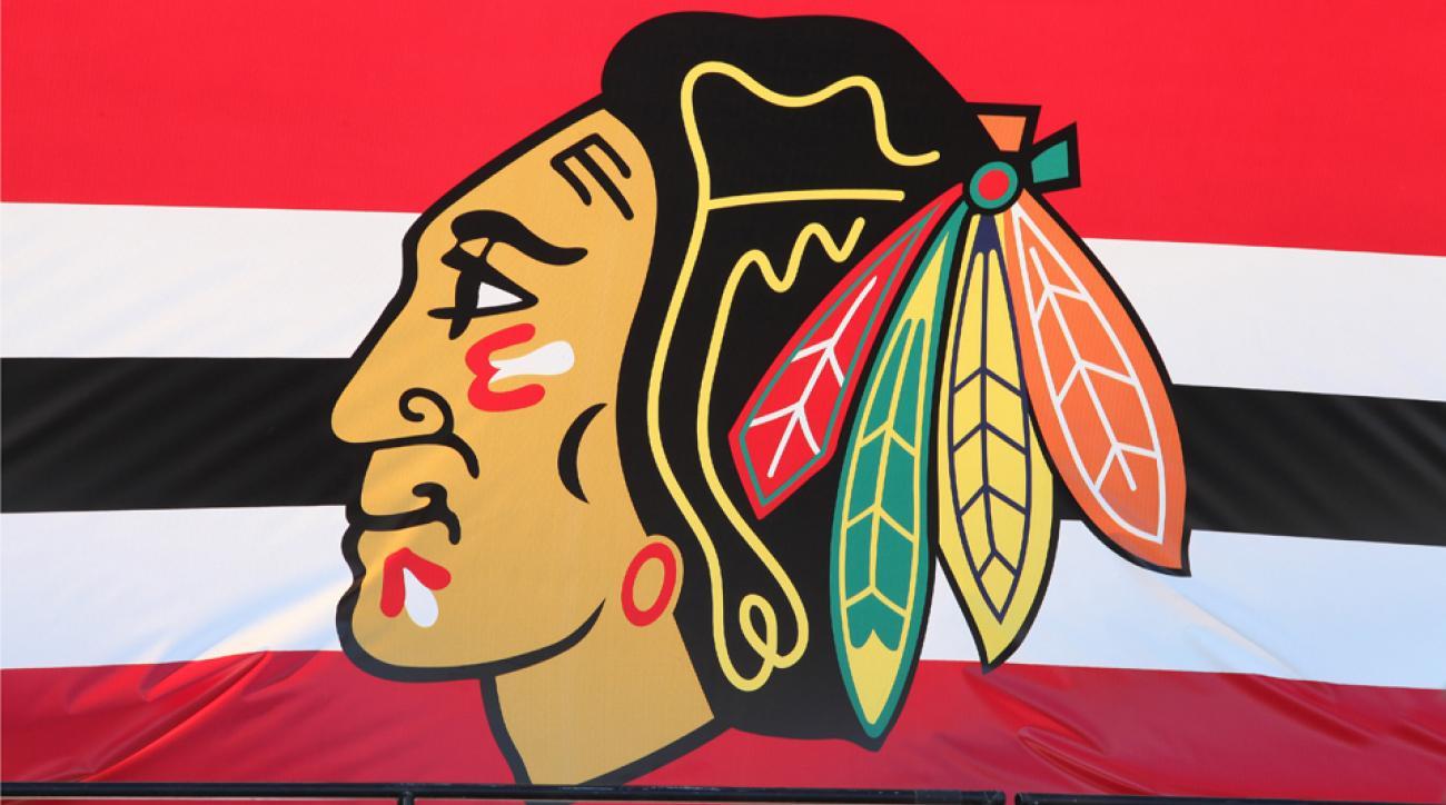 Chicago Blackhawks fans prom proposal
