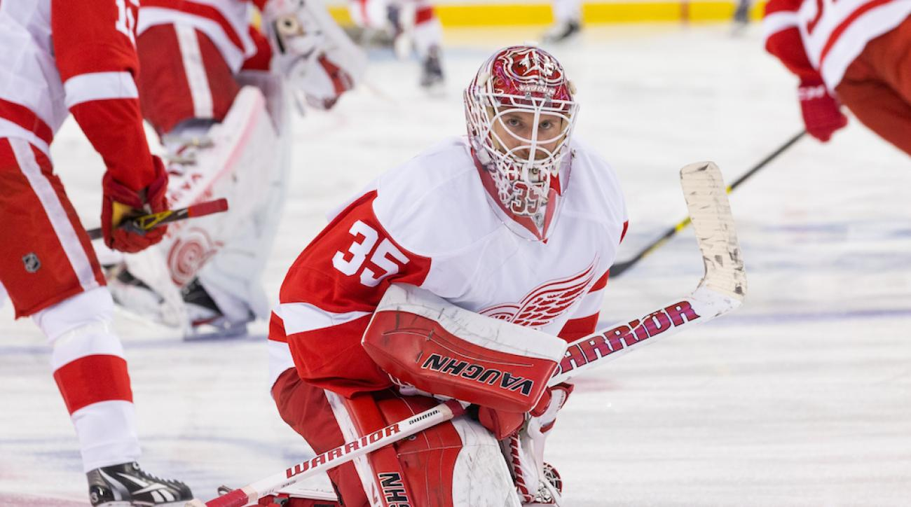 jimmy howard no trade request detroit red wings