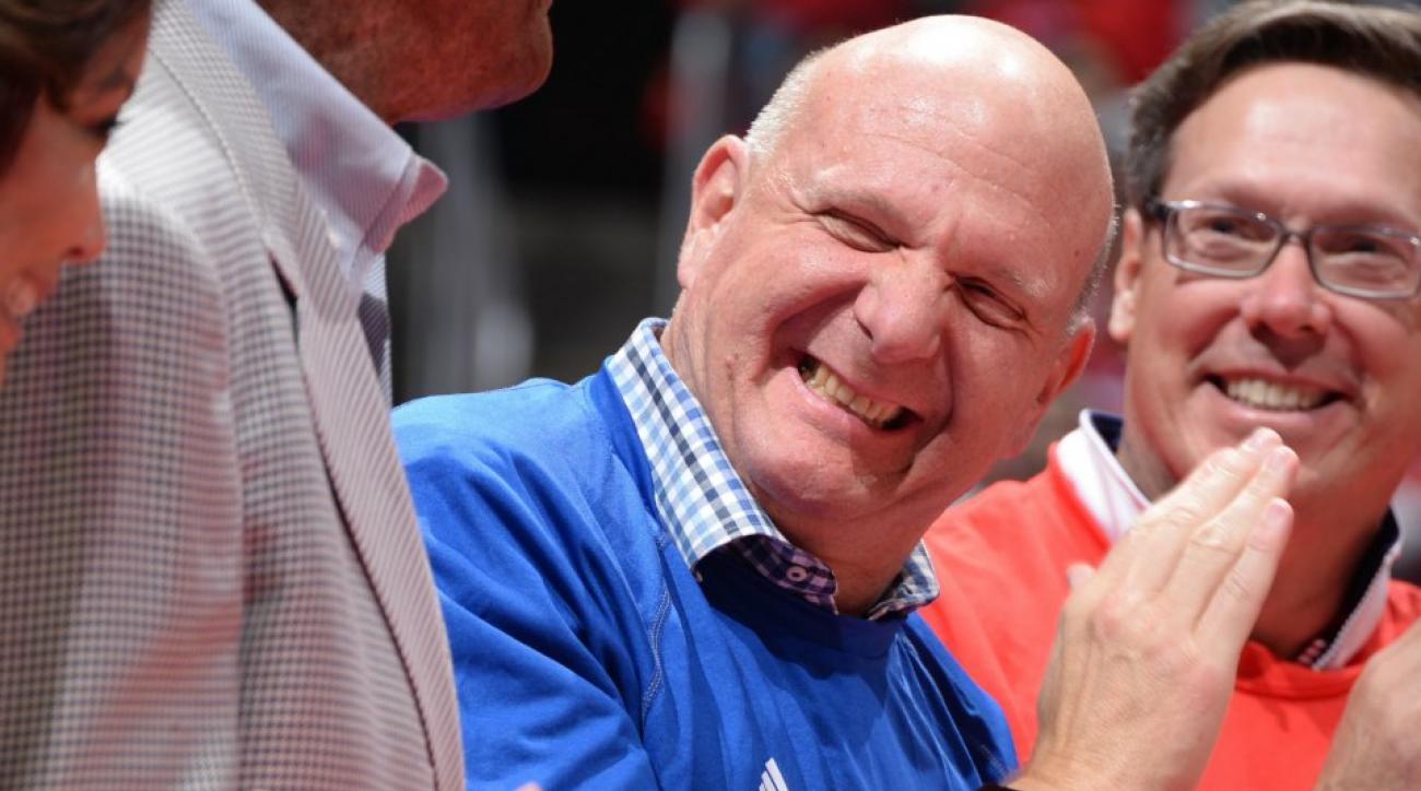 Clippers' Steve Ballmer cannot handle playoff pressure