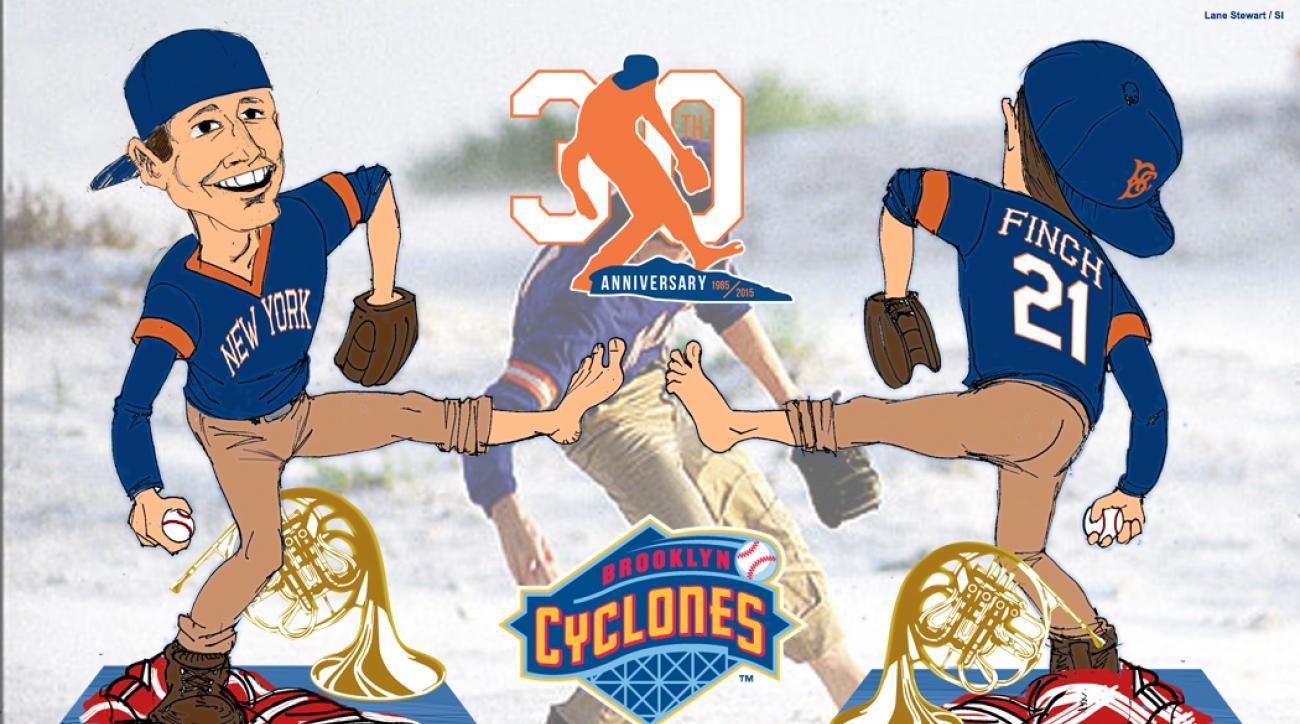sidd finch 30th anniversary brooklyn cyclones