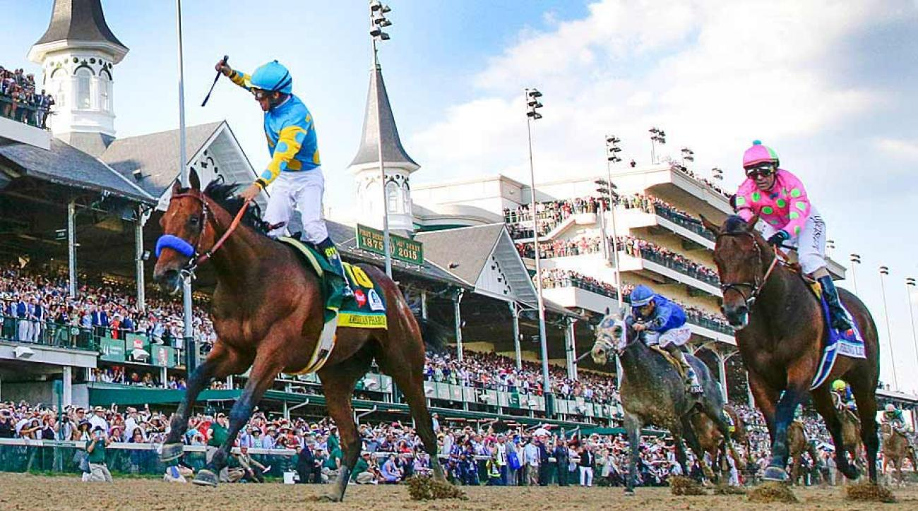 American Pharoah wins Kentucky Derby