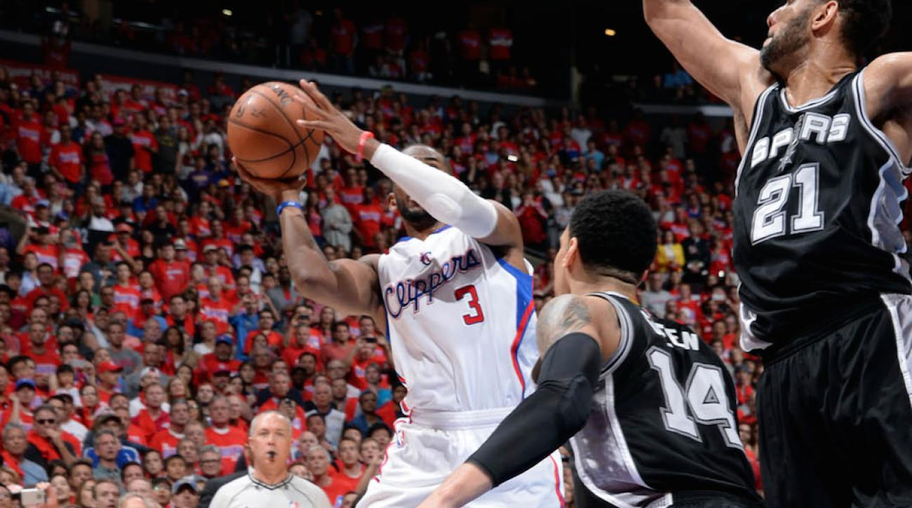 chris paul game winner game 7 clippers spurs