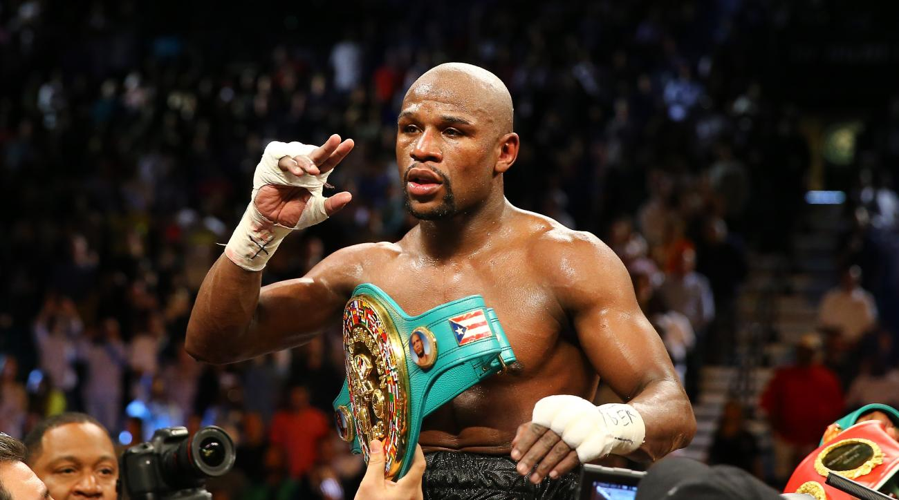 floyd mayweather manny pacquiao undefeated record
