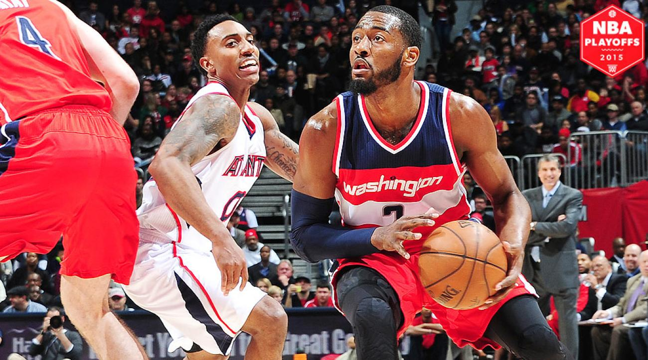 John Wall, Wizards face the Hawks in Eastern Conference semifinals.