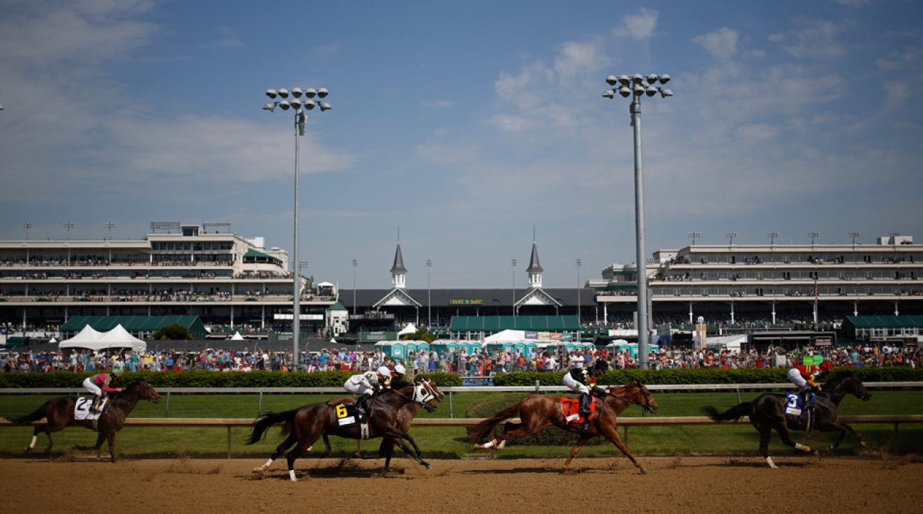 Kentucky Derby 2015 attendance record