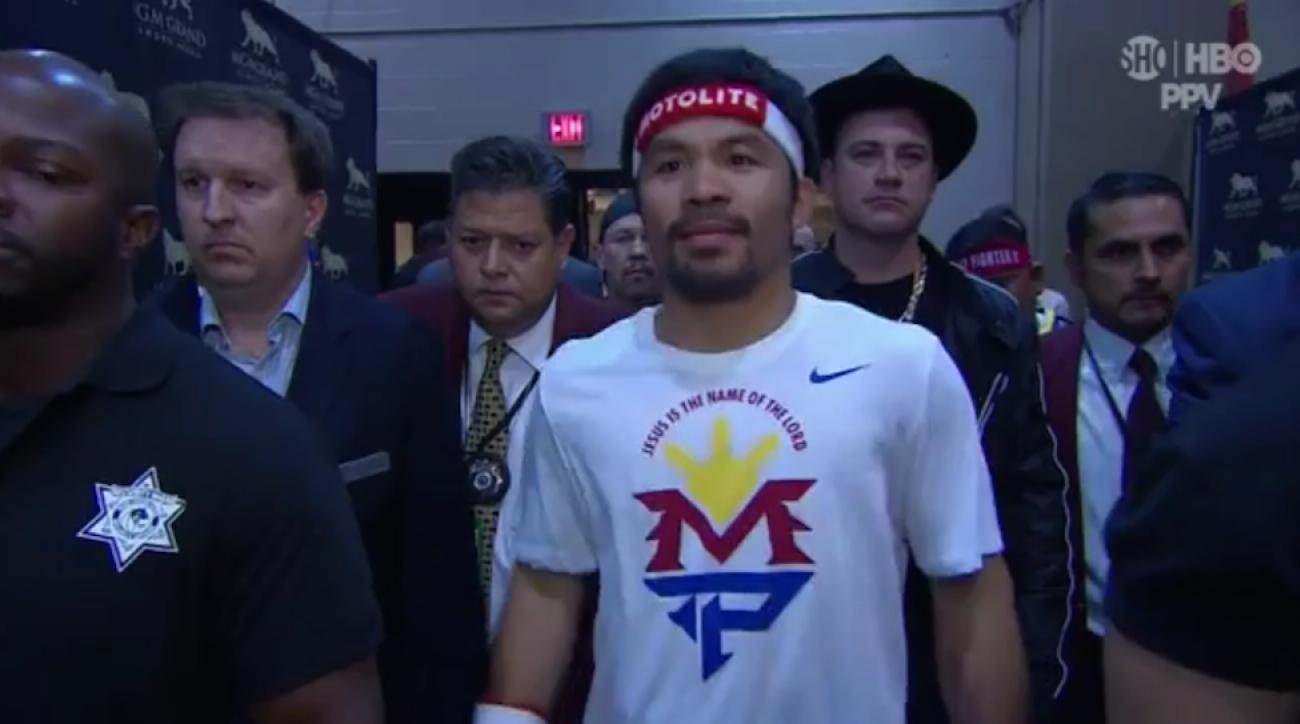 Mayweather vs Pacquiao fight Manny Pacman fight knockout