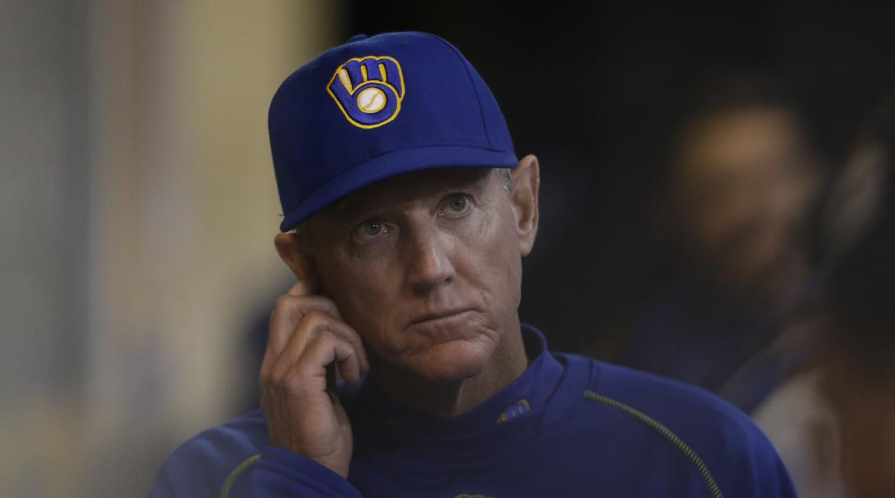 milwaukee brewers ron roenicke manager fired