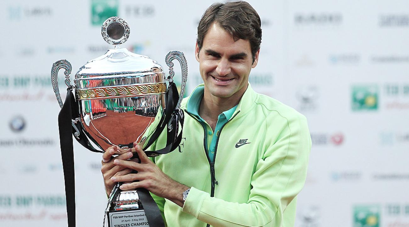 Roger Federer won his 85th career title at the Istanbul Open.