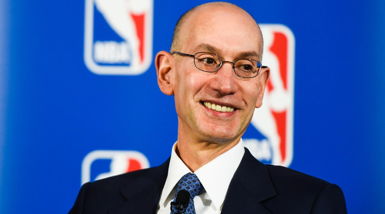 Adam Silver says NBA division winners should be rewarded in the playoffs if divisions exist.