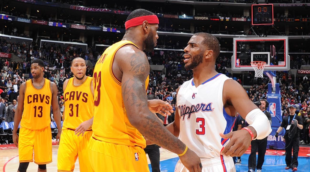 Chris Paul Game 7 LeBron James called hung up