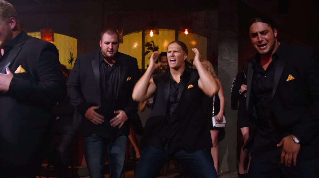 green bay packers clay matthews pitch perfect 2