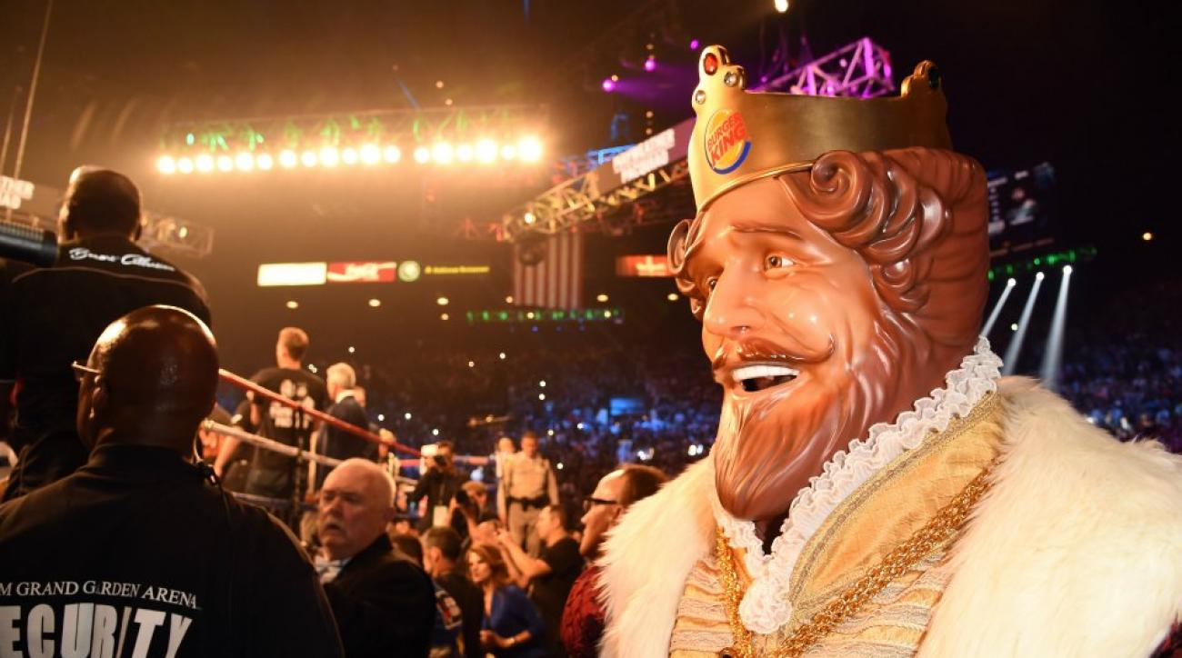Burger King's Mayweather appearance was worth $1 million
