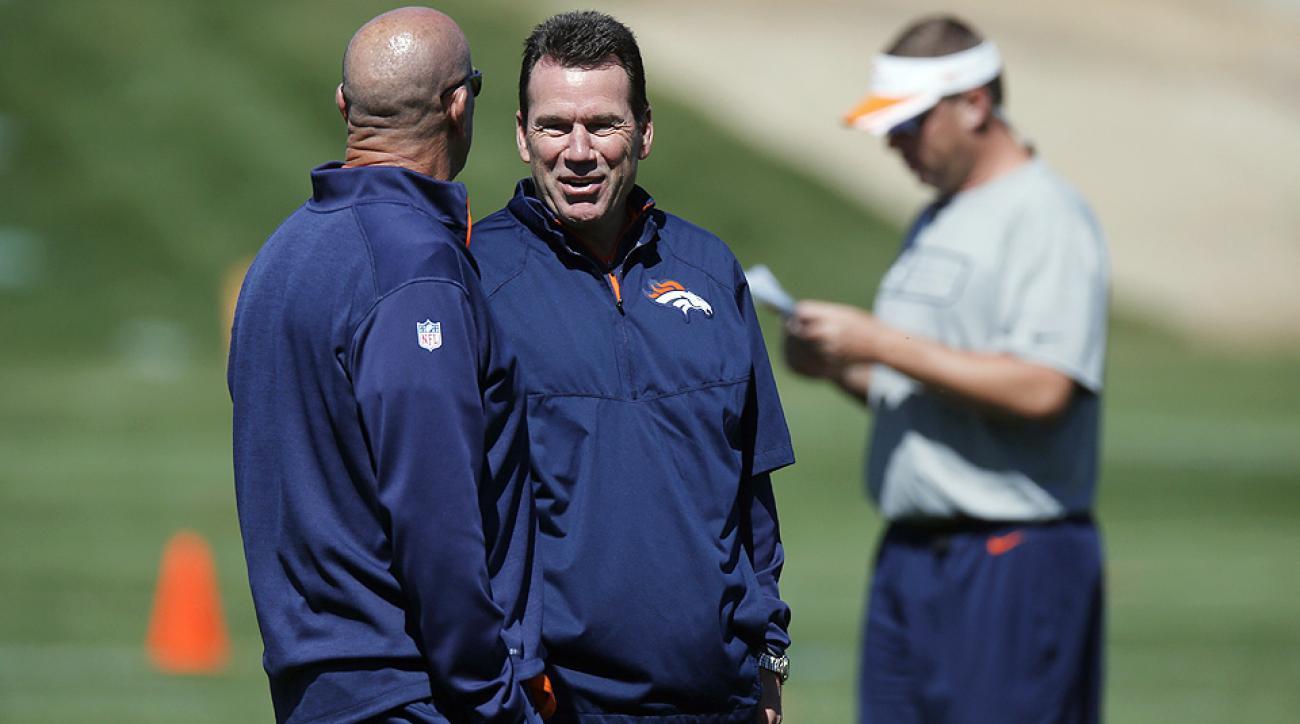 Denver Broncos coach Gary Kubiak