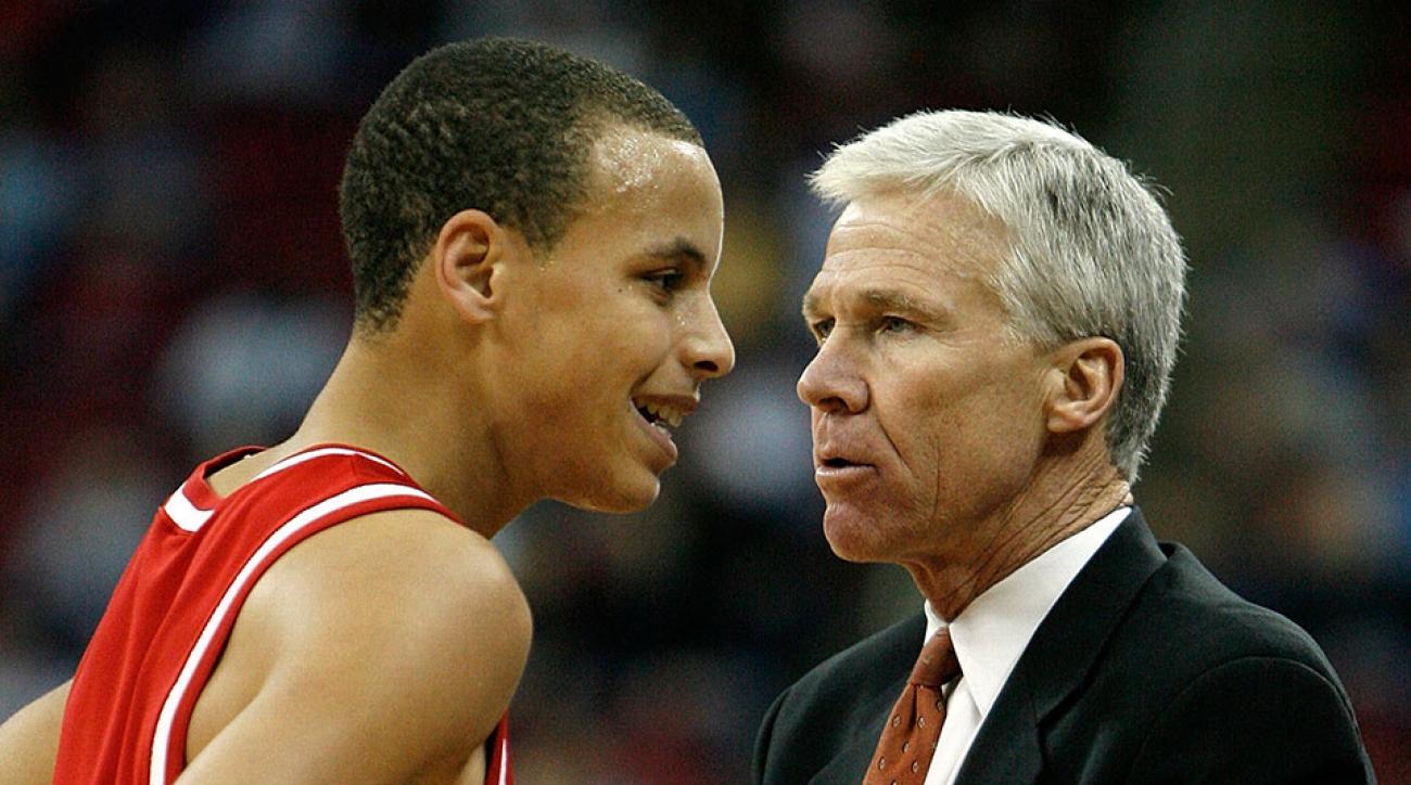 Stephen Curry NBA MVP Bob McKillop Davidson