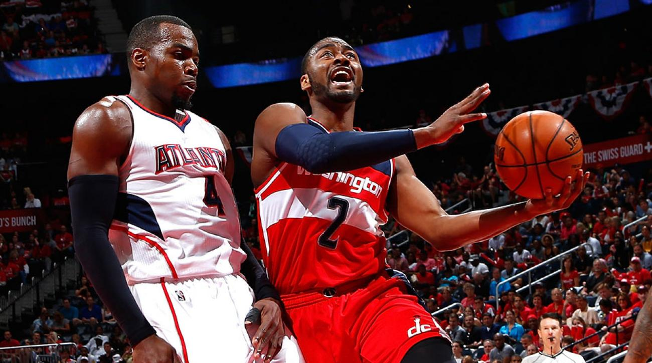 Washington Wizards John Wall out Game 2 vs Hawks