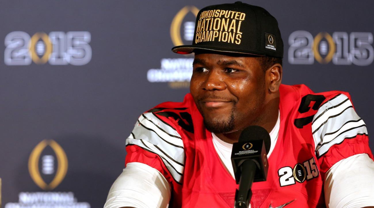 Cardale Jones wants to throw the first pitch at an Indians game.