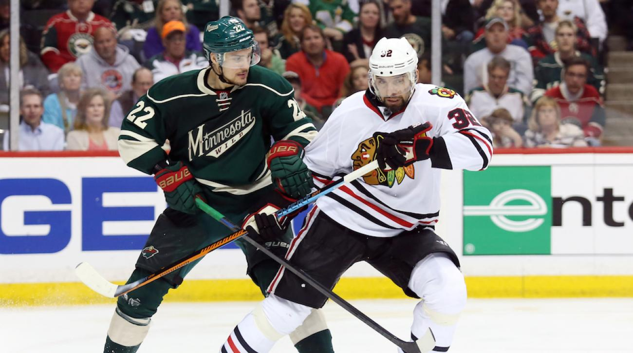 chicago blackhawks michal rozsival injury game 4