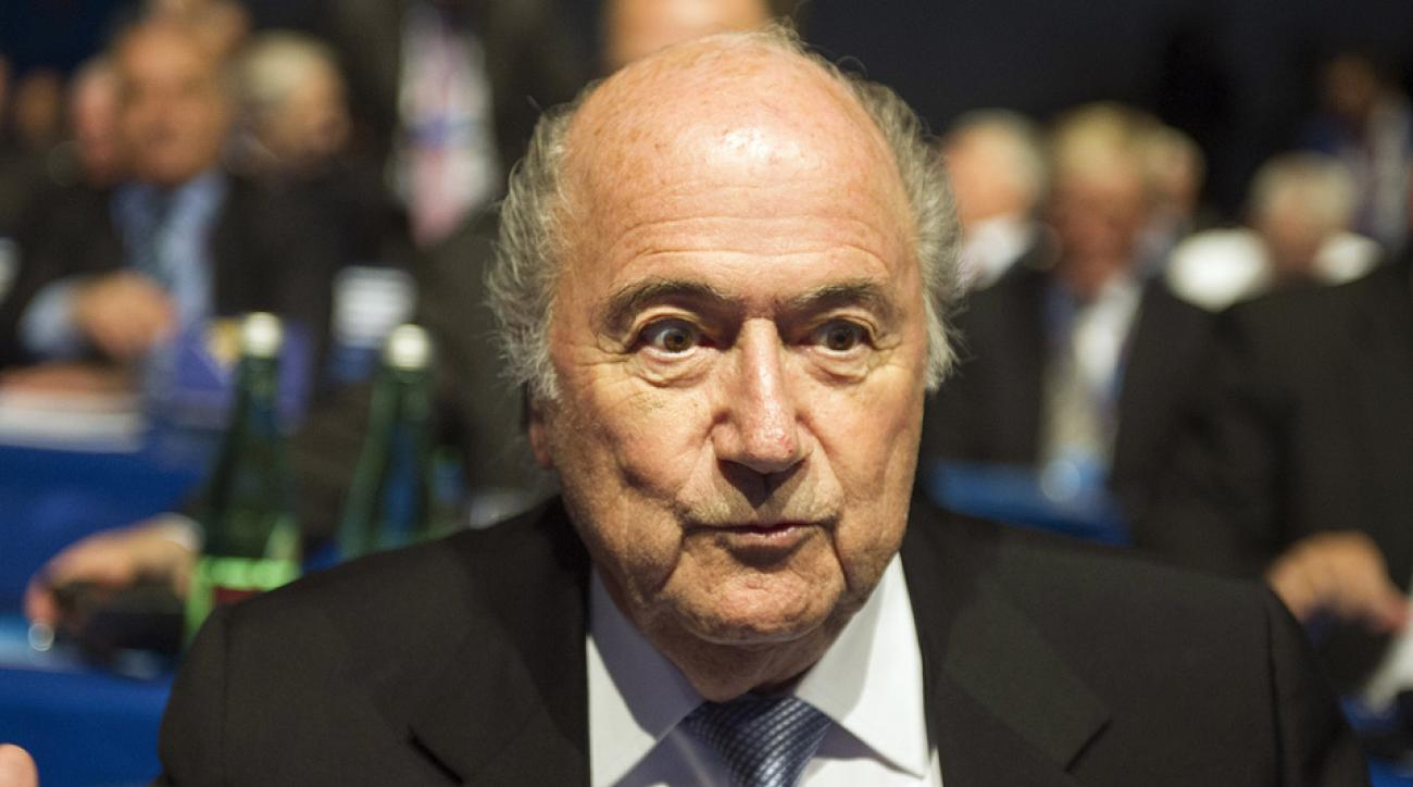 Sepp Blatter says he is a godfather of women's soccer.
