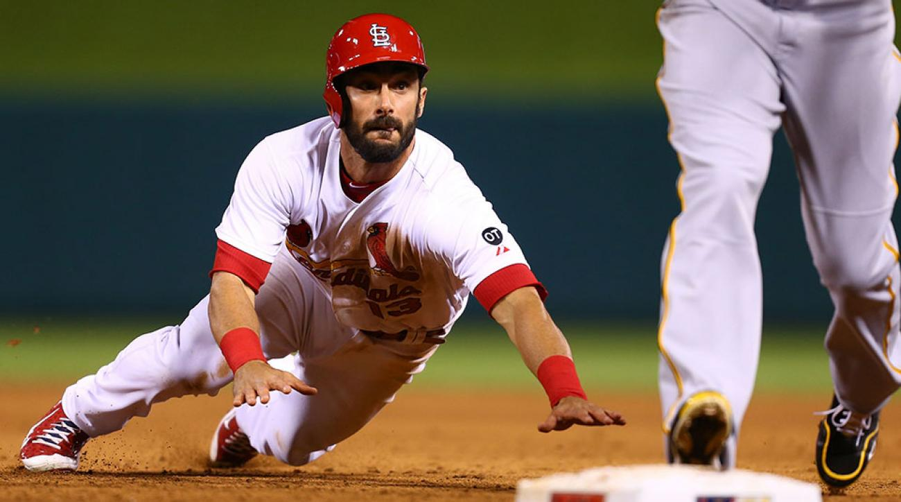 St Louis Cardinals Matt Carpenter out fatigue