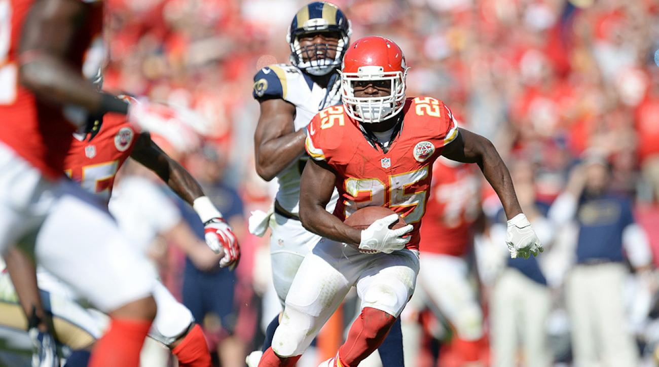 2015 Fantasy Football Rankings: Jamaal Charles tops list