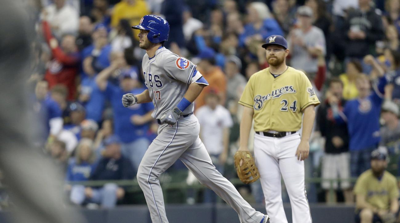 chicago cubs kris bryant first home run
