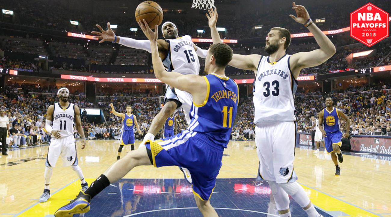 Marc Gasol, Memphis Grizzlies defeated Golden State Warriors in Game 3 to take 2-1 series lead.